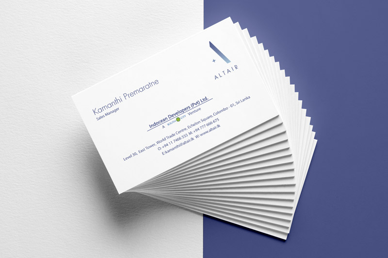 Altair Business Card