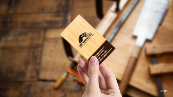 Ark Woodworks Business Card