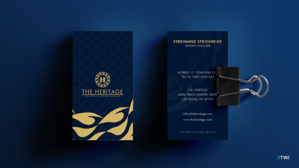 Heritage Business Card
