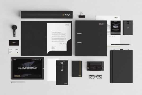 Kick Media Stationery