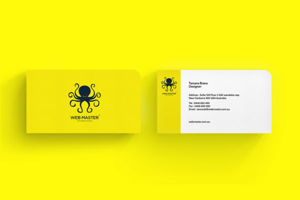 Webmaster Business Card